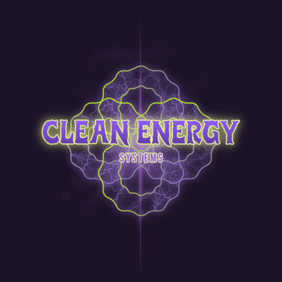 Electrifying Logo Creator for a Clean Energy Company 4100g