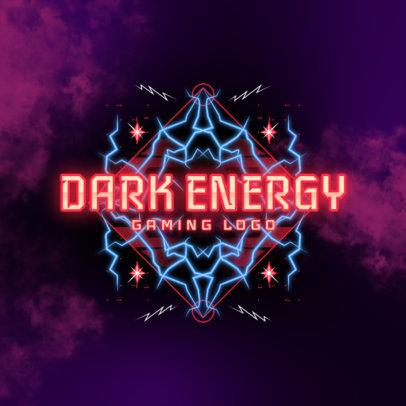 Energetic Logo Generator For a Gaming Streamer 4101i