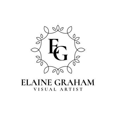 Monogram Logo Maker with Delicate Frames 3602-el1