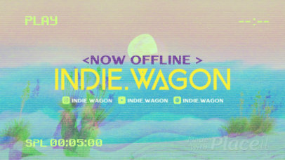 Twitch Offline Banner Video Generator with a Lo-Fi Style 2651
