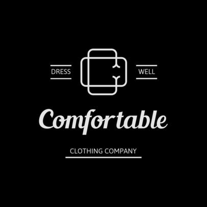 Monogram Logo Creator for an Elegant Clothing Brand 3598a-el1