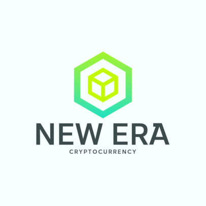 Abstract Logo Generator for Cryptocurrency Specialists 4109e