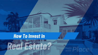 Slideshow Video Template for a Real Estate Ad 444c 2935