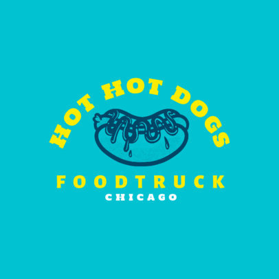 Logo Maker for a Chicago-Style Hot Dog Food Truck 1213c-4138
