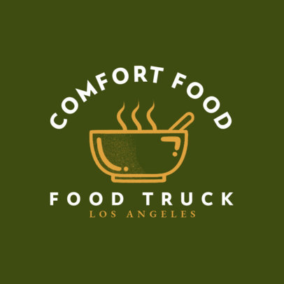 Food Truck Logo Creator for a Homemade-Style Food Brand 1213f-4138