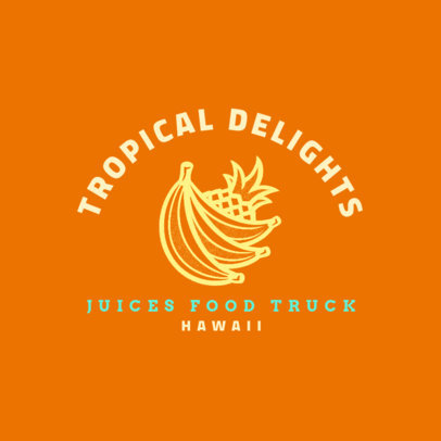 Fruity Logo Generator for a Juice Food Truck 1213o-4138
