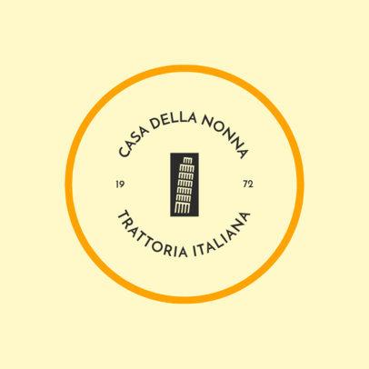 Logo Generator for Italian Restaurants 4135b