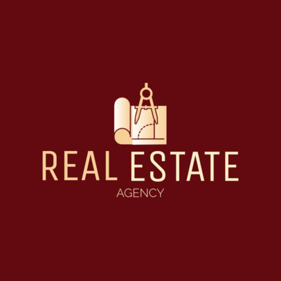 Real Estate Logo Template with a Civil Engineering Theme 1211d-4137