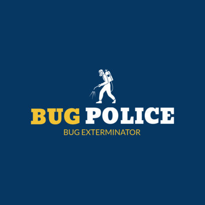 Logo Generator for a Pest Control Services Business 1254b 4139