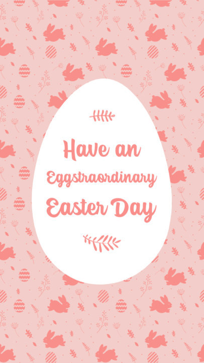 Instagram Story Design Template with an Easter Theme and Quotes 3685-el1