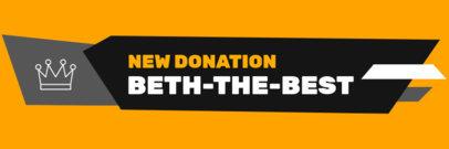 Twitch Alert Box Maker to Notify a New Donation 3698b-el1