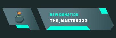 Twitch Alert Box Maker for New Donations 3695c-el1