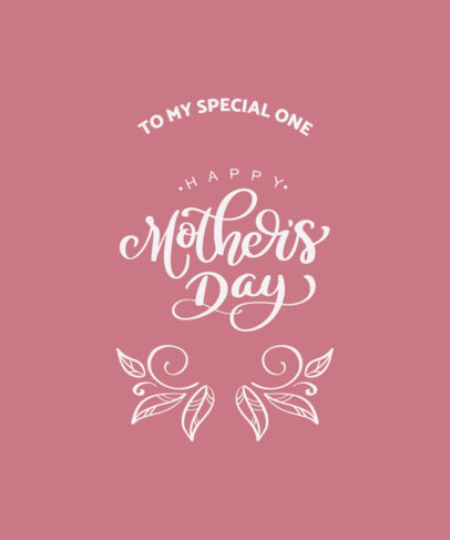 T-Shirt Design Maker to Celebrate Mother's Day 3723e-el1