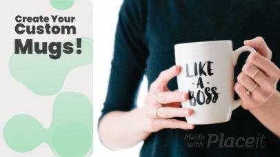 Slideshow Video Maker for a Mug POD Business 788e 3054