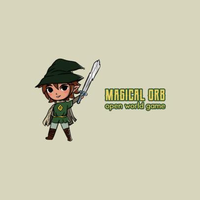 Gaming Logo Maker Inspired by The Legend of Zelda 4210