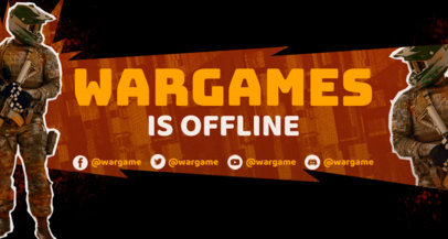 Twitch Banner Generator for Battle Royale Gamers 3535d
