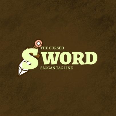 Gaming Logo Creator Inspired by Zelda Skyward Sword 4207a