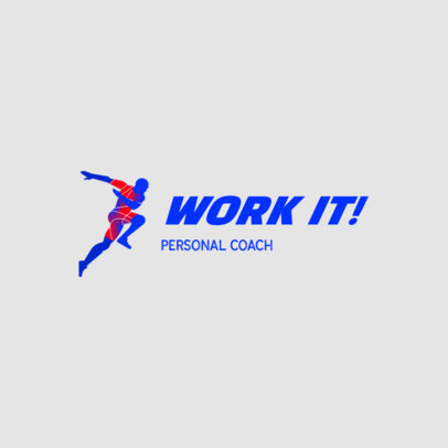 Dynamic Logo Template for a Virtual Personal Coach 4223b