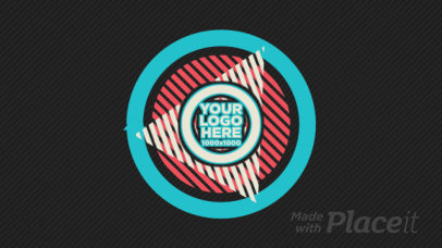 Intro Video Generator With a Retro Style and Geometric Animated Shapes 2800-el1
