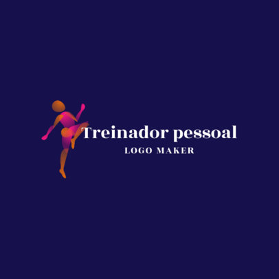 Portuguese Logo Generator for Personal Trainers 4221c