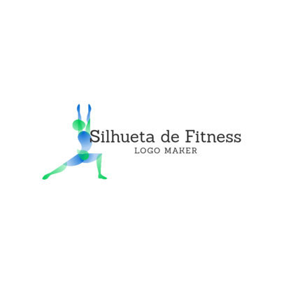 Fitness Logo Maker for Trainers Featuring a Text in Portuguese 4221e