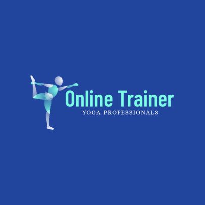 Logo Generator for Online Fitness Trainers 4221f