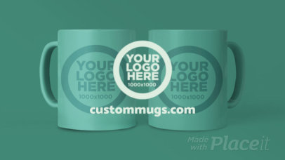 Simple Intro Video Maker For a Customizable Mugs Seller 216a 3088