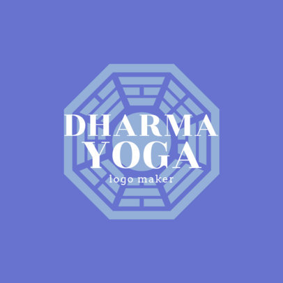 Logo Maker for a Dharma Yoga Studio 1360a-4172