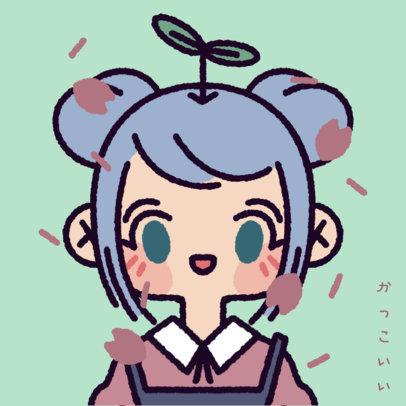 Fun Avatar Logo Generator with a Kawaii Korean Style 4238c
