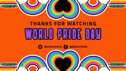 Twitch Banner Design Maker Celebrating LGBTQ Pride 3586g