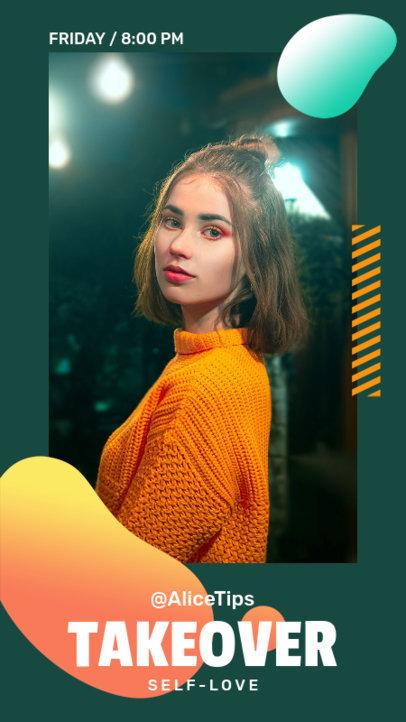 Instagram Story Design Maker for a Profile Takeover Announcement 3811d-el1