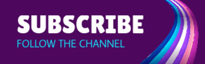 LGBT-Themed Twitch Panel Template for a Subscription Button 3589a