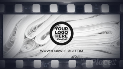 Intro Video Generator with a Vintage Film Theme 2923-el1