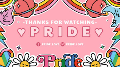 Sweet Twitch Banner Creator for an LGBTQ-Related Channel 3586b