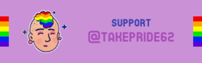 Twitch Panel Maker Featuring an LGBTQ Avatar 3588c