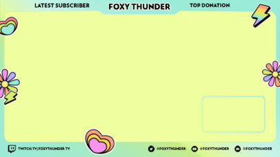 Sticker-Themed Twitch Overlay Generator for Pride Month 3587c