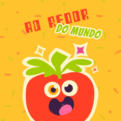 Childish Logo Template for a Kids Apparel Brand from Brazil 4254e