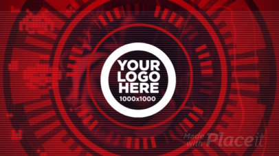 Intro Video Template Featuring a Dynamic Logo Reveal 1831a 3166