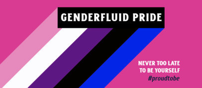 LGBT Facebook Cover Design Generator to Celebrate Pride Month 3608e