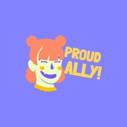 Twitch Emote Logo Creator Featuring an LGBT Customizable Avatar 4287j