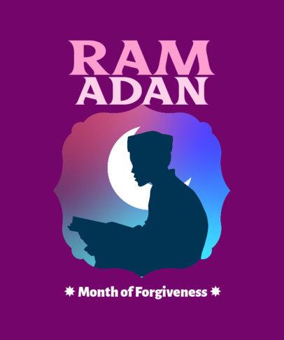 Illustrated T-Shirt Design Generator for Ramadan 3616e