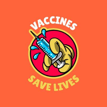 T-Shirt Design Generator for a COVID-19 Vaccine Awareness 4278k