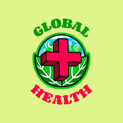 T-Shirt Design Creator Featuring a Global Health Graphic 4278n