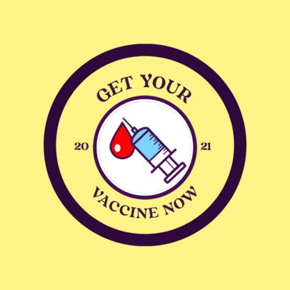T-Shirt Design Generator with an Illustrated COVID-19 Vaccine 4281l