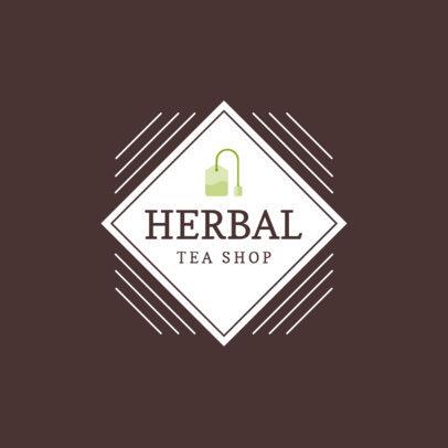 Logo Generator for a Modern Tea Shop 1344f-144-el
