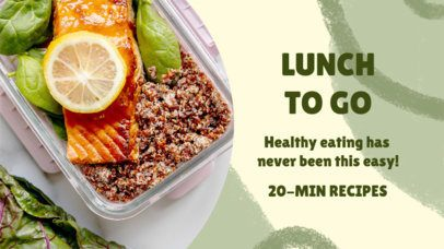 YouTube Thumbnail Design Generator to Promote Healthy Eating 3632d