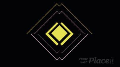 Logo Reveal with Futuristic Graphics 335