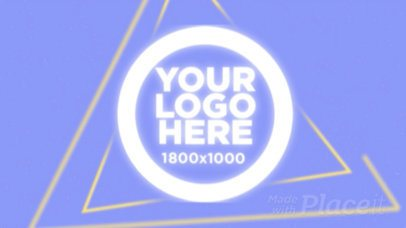 Intro Maker for a Logo Reveal with Geometric Animations 10b 976