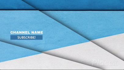 End Screen Youtube Video Template with Geometric Figures 1464a-1243